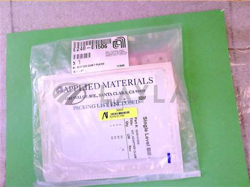 0240-01506//KIT, ADAPTER CLAMP PLATES/Applied Materials/_01