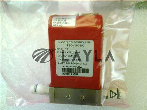 3030-01532//MFC   4400 2SLM H2 1/4VCR MTL NC 9P-D SS/Applied Materials/_01