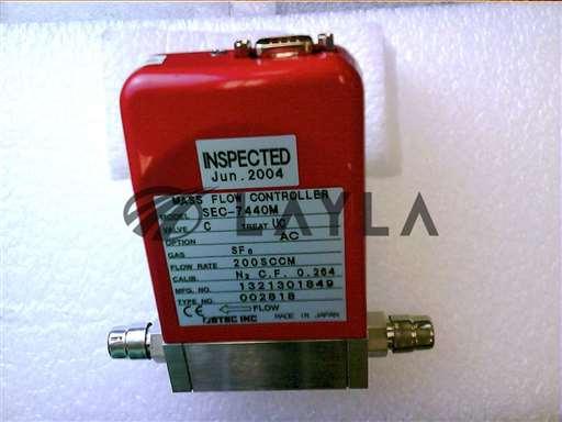 3030-02714//MFC 7440 200SCCM SF6 1/4VCR MTL N/C 9P/Applied Materials/_01