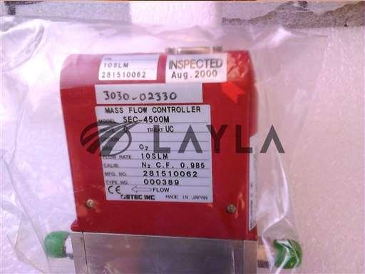 3030-02330//MFC4500 10SLM O2 1/4VCR MTL N/O 9P-DSUB/Applied Materials/_01