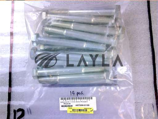 3090-01189//BOLTHEX HD 5/8-11 X 5.5L STL ZINC-PLT GR/Applied Materials/_01