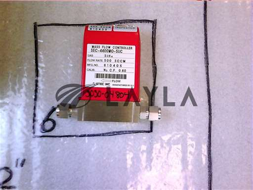 3030-04804//MFC4400 500SCCM SIH4 1/4VCR 9P-D NC 10RA/Applied Materials/_01