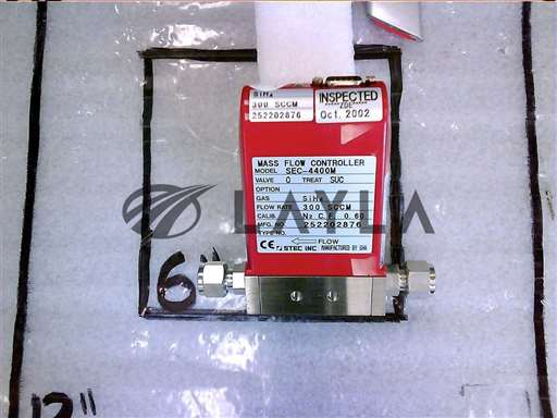 3030-01850//MFC   300 SCCM SIH4 1/4VCR MTL N/C (STEC/Applied Materials/_01