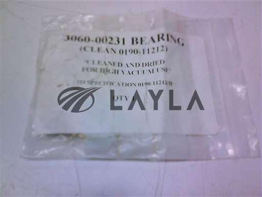3060-00231//BEARING (CLEAN TO 0190-11212)/Applied Materials/_01