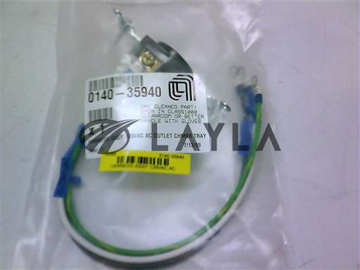 0140-35940//HARNESS ASSY 120VAC AC OUTLET CHMBR TRAY/Applied Materials/_01