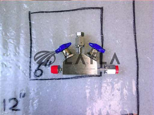 3870-02312//VALVE V-BLOCK MNL DIAPH 3WAY 1/4VCR-M/F//Applied Materials/_01