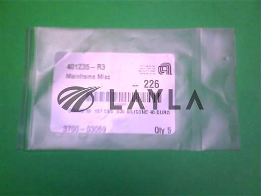 3700-03069//ORING ID .157 CSD .030 SILICONE 40 DURO/Applied Materials/_01