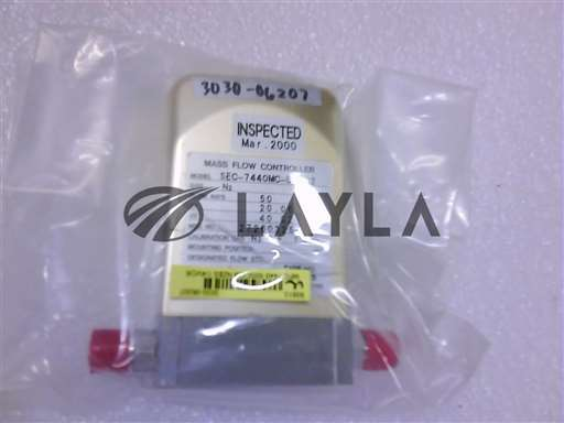 3030-06207//MFC 7440 50SCCM N2$S 1/4VCR MTL NC 9P-/Applied Materials/_01