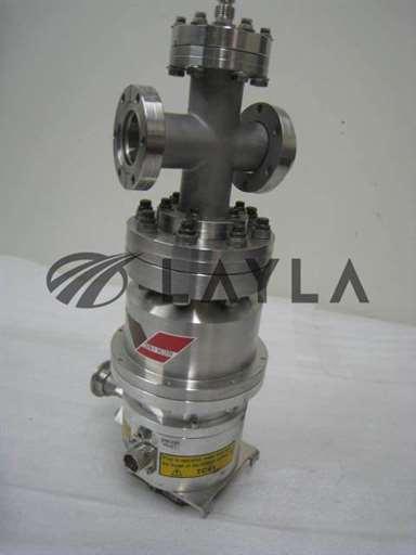 "-/-/TG56CA turbo pump stack w/ conflat 23/4""  4 way tee and 1/4"" VCR port/Osaka/-_01"