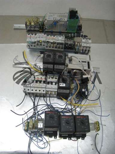 -/-/6 Watlow 146 Temp controls W/ IDEC micro Smart, circuit breaker, DIN Rail/-/-_01