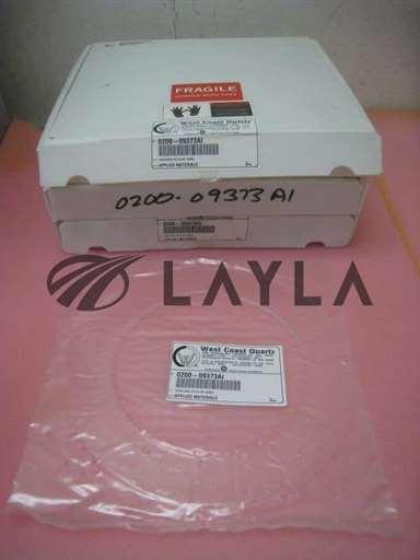 0200-09373/-/3  AMAT 0200-09373 West Coast Quartz Cover Ring Quartz Alum 150mm New/AMAT/-_01