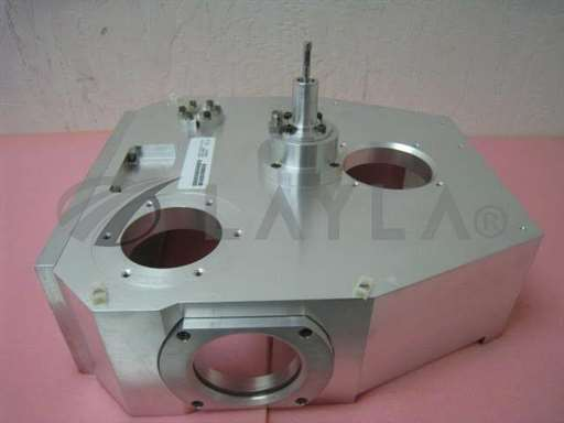 -/-/AMAT 0290-20003 Wafer Orientor Chamber Assy w/ Rotary Feedthru Switch+View Ports/-/-_01