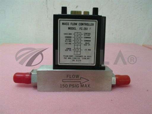 -/-/Tylan MFC, mass flow controller, FC-261, N2, 10 SLPM, SAC805009/-/-_01