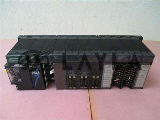 -/-/State Logic CPU IC693CSE340F PLC, GE Fanuc Series 90-30, AD693CMM301A Com Module/-/-_01