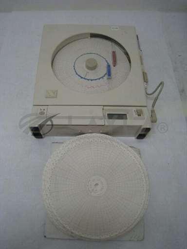 -/-/Newport Electronics CT485B-110V-W/N spiral chat recorder wth temp/humidity probe/-/-_01