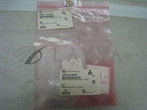 "3310-01040/Pressure Gauge/2 AMAT 3310-01040 Pressure Gauge 0-30 PSI 2""0 Weld Male 1/4 VCR, 323472/AMAT/_01"