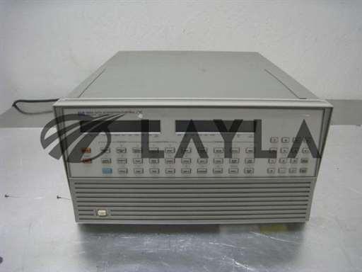 -/-/Hewlett Packard 3852A, HP DAQ with 5 44708A 20 Channel relay multiplex modules/-/-_01