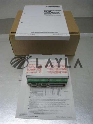 ANMX402/-/NEW Panasonic Micro Imagechecker AX40, ANMX402 controller/Panasonic/-_01