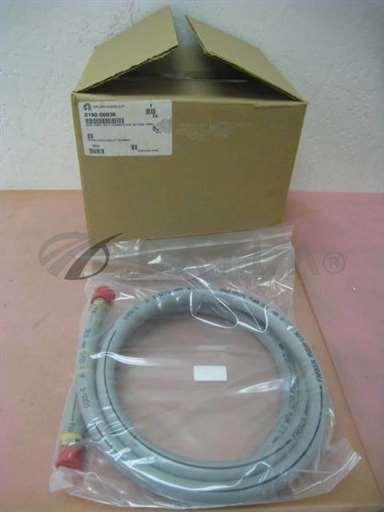 0190-06036/-/NEW AMAT 0190-06036 HOSE ASSY, CH A CHAMBER H2O RETURN, 300mm, 327817/AMAT/-_01