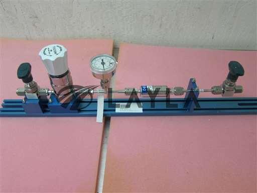 -/44-2213-242-010/Kinetics Gas Line, Regulator Tescom 44-2213-242-010 Ametek gauge swagelok/Tescom/-_01