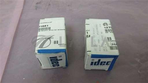 1270-01681/-/2 AMAT 1270-01681 SQ NON-ILLUM SELECT 2POS NC W/KNOB IDEC ASW201-116 402661/AMAT/-_01