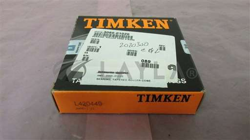 3060-01020/-/AMAT 3060-01020, Bearing, Tapered Roller Cone, 4 Bore, Timken, 410408/AMAT/-_01