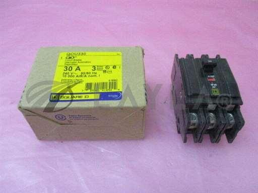 QOU330/-/Square D QOU330 Circuit Breaker, 30A, 240V, 50/60Hz, AMAT 0680-01772, 410800/Square D/-_01