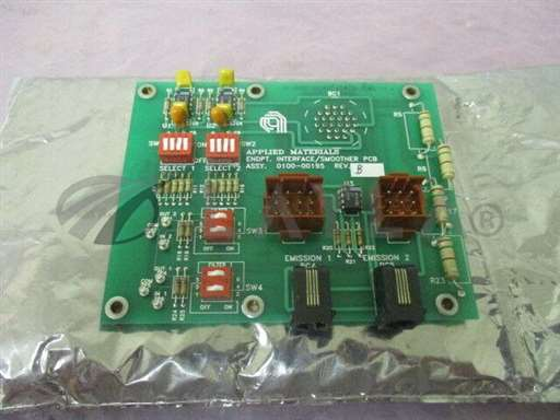 -/-/AMAT 0100-00195 Endpoint Interface, Smoother, PCB, 411590/AMAT/-_01