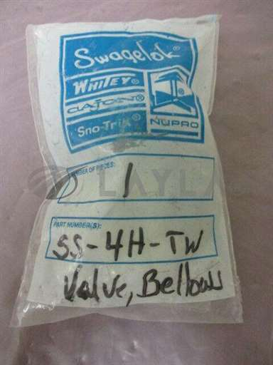 SS-4H-TW/-/Swagelok SS-4H-TW Bellows-Sealed Valve, Welded, , 1/4 in. TSW and 3/8 in/Swagelok/-_01