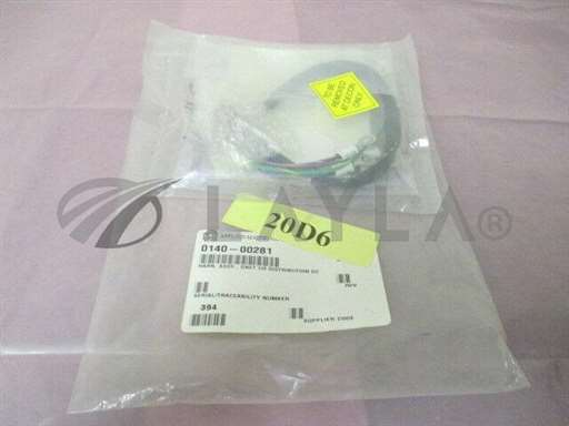 0140-00281/DNET I/O Distribution DC Cable/AMAT 0140-00281 Harness Assembly, DNET I/O Distribution DC, Cable, 414215/AMAT/_01