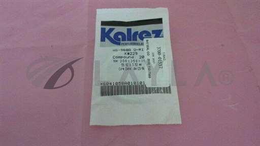 AS-568A//Kalrez AS-568A Compound 2037, 3700-01537, 2-3/8 x 2-5/8 x 1/8 in, O-Ring. 328840/Kalrez/_01