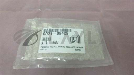 0021-09429//AMAT 0021-09429, Filter UV Solid Aluminum Recessed Endpoint. 414989/AMAT/_01