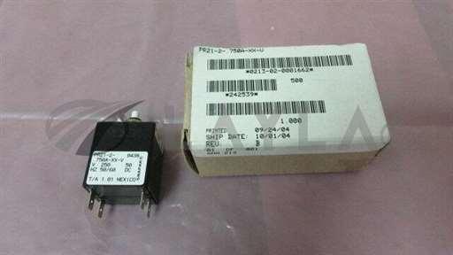 PRI21-750A-XX-V//Airpax PRI21-750A-XX-V, Snapak 0213-02-0001662, Circuit Breaker. 329061/Airpax/_01