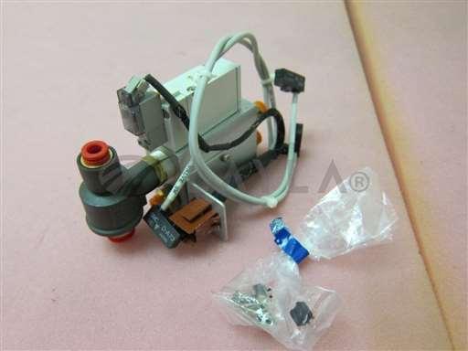 SYJ714R-5MOZ/-/SMC SYJ714R-5MOZ manifold assembly, 3 SMC D-A73 reed auto switch, 400316/SMC/-_01