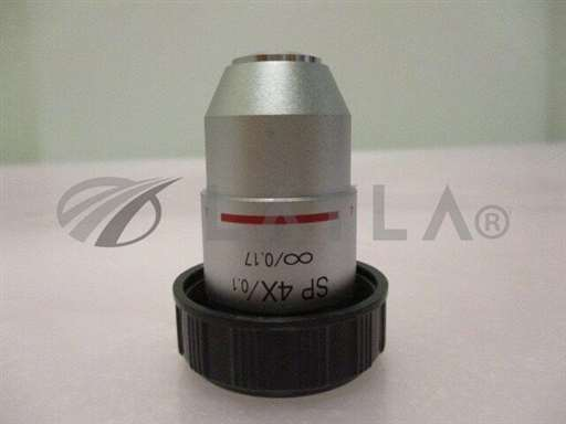 4X/-/SP 4X/0.1, infinity/0.17, 4X Objective Lens, Microscope 408793/Objective/-_01
