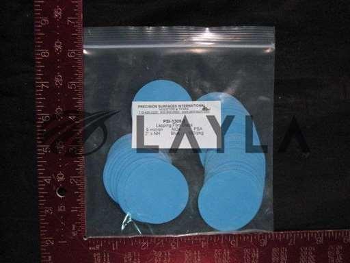 PSI-1309-2/-/LAP FILM DISCS (BLUE) 9 MICRON pkg 1/PRECISION SURFACES INTERNATIONAL/-_01