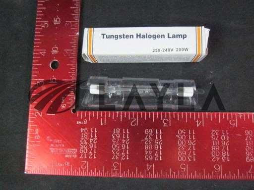 Tungsten-Halogen-Lamp/-/GENERIC Tungsten Halogen Lamp, 78mm, 220-240V, 200W/-/-_01