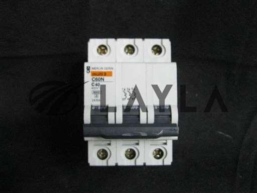 C60N-C40/-/400V 3 POLE CIRCUIT BREAKER/MERLIN GERIN/-_01