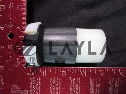 HBL2323-USED/-/6110-0113-01 Connector Body. Wiring Scheme, 2-Pole, 3-Wire Grounding. Am/HUBBELL/-_01
