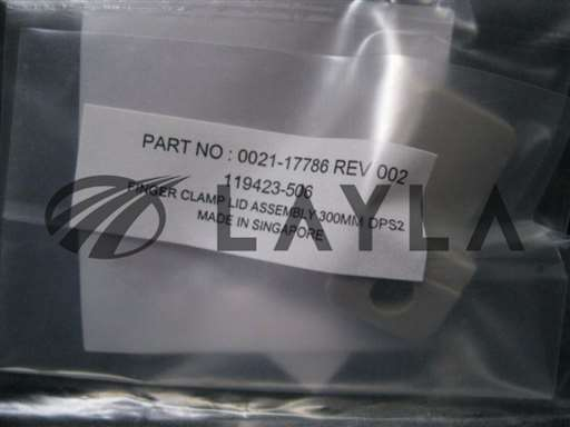 0021-17786/-/FINGER CLAMP LID ASSEMBLY 300MM DPS2/Applied Materials (AMAT)/-_01