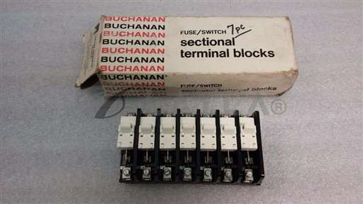 /-/Buchanan 0342 Sectional Fuse Switch Terminal Block of 7.//_01