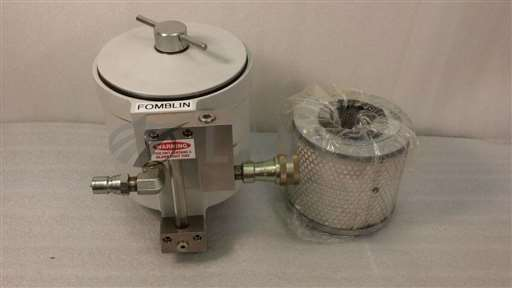 /-/Leybold 720-19-000-3, 720-19-00-2 Recirculating Oil Filter System w/ New Filter//_01