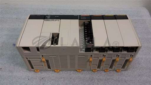 /-/Omron Sysmac CQM1 Programmable Controller CPU21 w/ PA203, ID211, OC221 Modules//_01