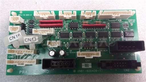 /-/TEL Tokyo Electron CPC-G215A01C-11 PRA-X Board 2981-600409-11//_01