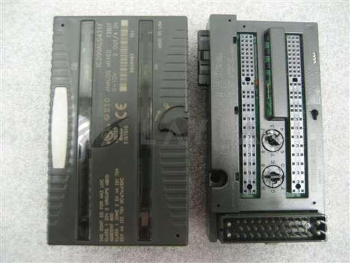 /-/GE Fanuc VersaMax Analog Module IC200ALG431F With I/O Module IC200CHS003H//_01