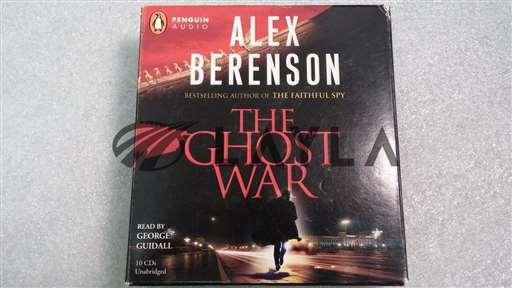 -/-/The Ghost Warby Alex Berenson (2008, CD, Unabridged) 10 CDs/-/-_01