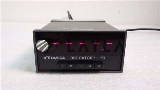 Digicator 412B-K/-/Omega Digicator 412B-K Temprature Indicator w/ 5 T/C Inputs/Omega Engineering/-_01