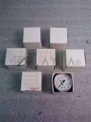 "/-/SMC 9143-06 Pressure Gauge 0-160 psi 0-11 kgf/cm21 1/2""(LOT of 7)//_01"