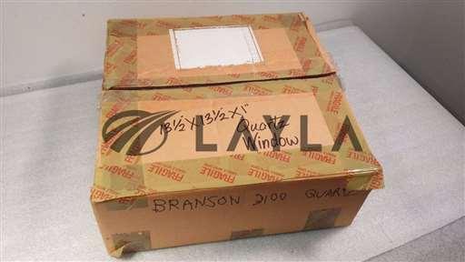 """3100/-/Clear Fused Quartz Window 340x340x25.4mm13.5x13.5x1""""/Branson/-_01"""