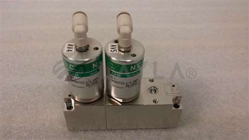 /-/CKD MAGD5-02A-W-11 Manifold w/ 2 NC Diaphragm Valves//_01